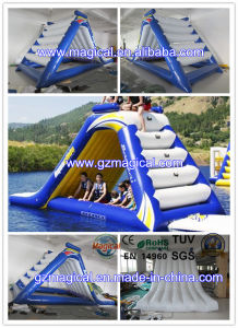 Outdoor Durable Inflatable Water Slide Floating Water Slide for Kids&Adults (MIC-047) pictures & photos