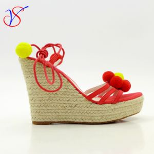Sex Fashion High Heeled Women Lady Sandals Shoes for Socially Business Sv-Wf-021