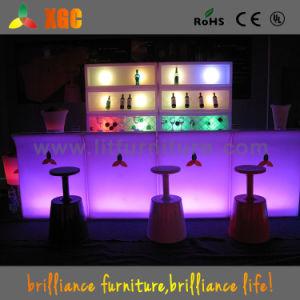 Lit Bar Furniture/LED Bar Counter/Lighted Bar Table