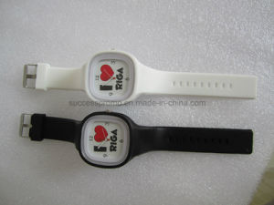 Wholesale Fashion Sport Waterproof Quartz Analog Silicone Watch pictures & photos
