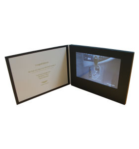 7.0inch TFT LCD Video Card Folder pictures & photos