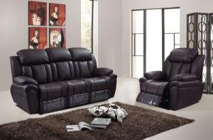Modern Design Commercial Living Room Leather Recliner Sofa Set 1 2 3 Hc5928