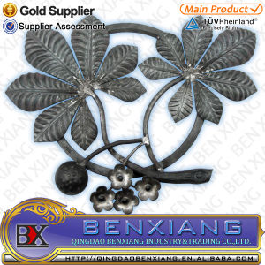 Ornamental Decoration Wrought Iron Rosettes pictures & photos