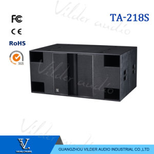 Ta- 218s Big Speaker Subwoofer Double 18′′ Outdoor Bass Woofer