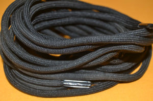 High Quality Cheap Polyester Round Shoelace pictures & photos