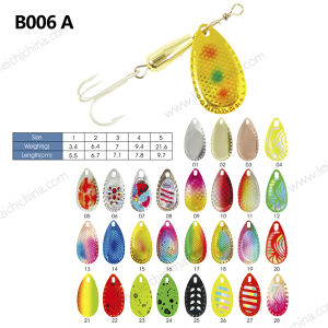 Colorful Popular Fishing Lure Spinner pictures & photos
