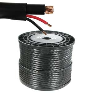 305m Plastic Spool Rg59 Coaxial Cable