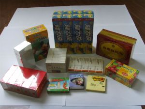 Box for BOPP Packing Machine with Adhesive Tear Tape (SY-1999) pictures & photos