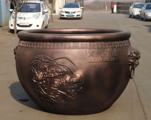 Cast Iron Water Tank, Water Vat, Pot, Kong, Urn, Earthen Jar