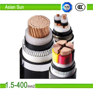 XLPE Insulated and PVC Sheathed 95mm2 Electrical Power Cable pictures & photos