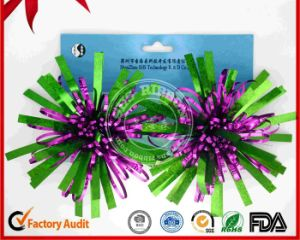 Christmas Decoration Colorful Ribbon Fancy Bow pictures & photos