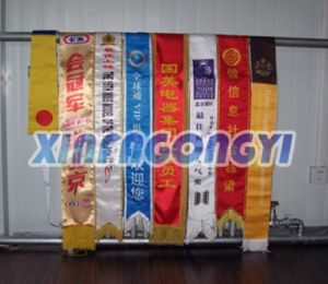 Satin Polyester Sashes, High Quality Sash with Double Side