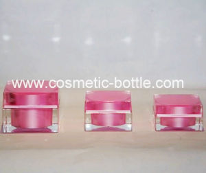 Airless Bottle and Jars for Styling Gel 50g (FA-03-J50)