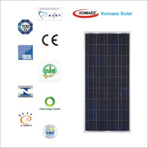 150W Polycrystal Solar Panel with IEC, CE, Mcs, Cec, Inmetro, Soncap etc Certificates