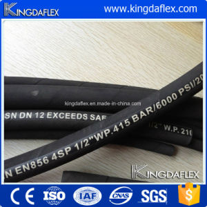 SAE100 R13/R15 High Pressure Wire Spiral Reinforced Hydraulic Rubber Hose pictures & photos