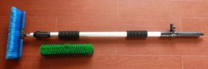 Telescopic Water Flow Brush Car Cleaning Brush Garden Brush pictures & photos