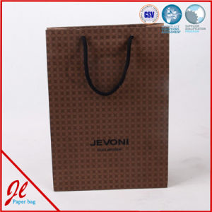 New Fancy Custom Logo Printed Shopping Bag Gift Paper Bag with Handle pictures & photos