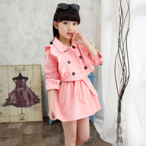 China Factory Kids Apparel Primary School Uniform Designs for Girls pictures & photos