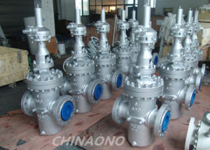 Wcb Carbon Steel Double Disc Flat Gate Valve pictures & photos