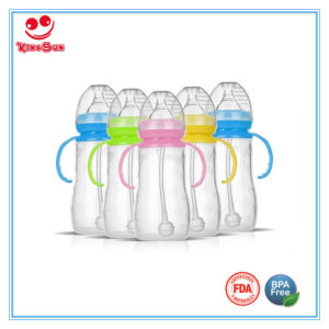 8 Oz Colorful Newborn Silicone Baby Bottle pictures & photos