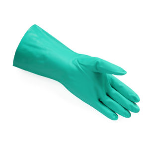 China Made Cheap Price Nitrile Gloves Nitrile Fully Coated Safety Gloves