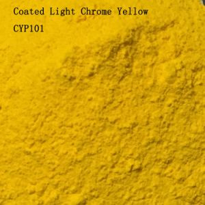 Plastic and Rubber Used Coated Light Chromeyellow