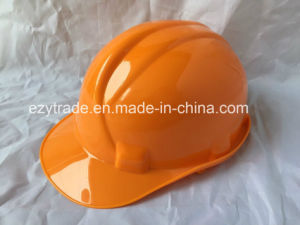 ABS/HDPE Plastic Safety Helmet for Head Protection