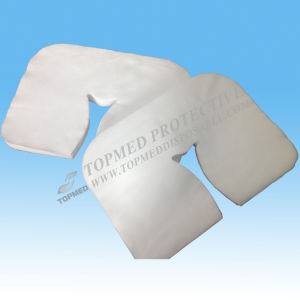 Beauty Salon Use Disposable Non-Woven Spunlace Face Cover. Head Covers pictures & photos