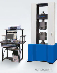 Microcomputer control electronic universal testing machine of WDW-T series pictures & photos