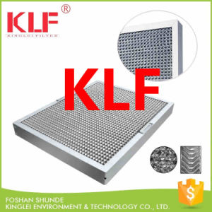 China Commercial Kitchen Canopy Hood Honeycomb Grease Filter - China ...