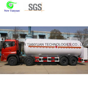 54m3 Effective Volume LNG Liquified Natural Gas Storage Tank