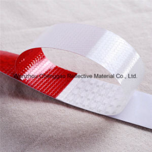 DOT-C2 White and Red Safety PVC Reflective Tapes for Trailers pictures & photos