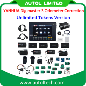 Digital Speedometer Reset, Odometer Change Tools, Digimaster 3 Obdii Odometer Correction Kit with Unlimited Tokens Version pictures & photos