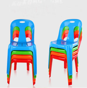 Durable Dining Room Colorful Design PP Plastic Chair for Restaurant pictures & photos