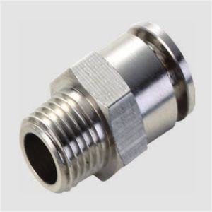 Pcf Straight Brass Metal Pneumatic Fitting pictures & photos