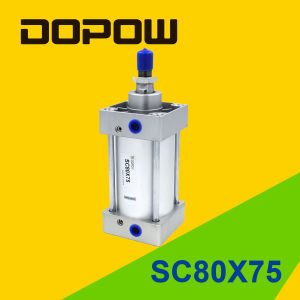 Dopow Sc80X75 Pneumatic Cylinder Standard Cylinder pictures & photos