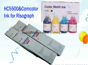 Hc5500 Refill Ink for Use in Riso pictures & photos