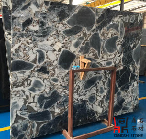 Natural Chinese Original Galaxy Blue Marble Slabs for Wall Clading/Flooring