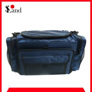 Blue Rectangular Tackle Fishing Bag