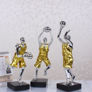 Resin Hoopster Hoopman Statue Home Decor Craft Souvenir