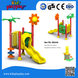 Small Plastic Kids Outdoor Playground Set for Fun pictures & photos
