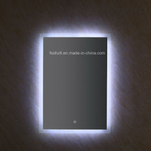 5050 SMD Light Frameless LED Bathroom Mirror for Hotel Project pictures & photos