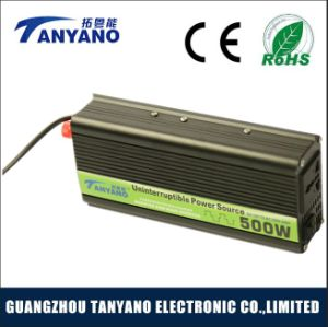 500W DC to AC Manufacturer Solar Power Inverter with UPS
