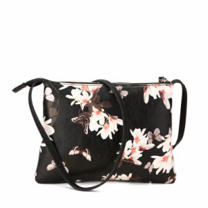 Elegant Style Floral Print Cross-Body Bags (MBNO040105) pictures & photos