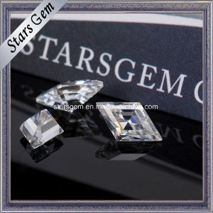 Fancy Shape Kite Vvs F-H Color Moissanite Synthetic Diamond for Jewelry pictures & photos