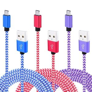 Micro Cable, Colorful Nylon Braided High Speed USB 2.0 a Male to Micro B Data Sync and Charger Cable for Samsung Galaxy S7 Edge, S6, HTC, Motoro pictures & photos