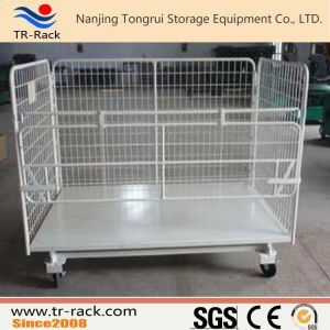 Steel Foldable Logistics Trolley for Warehouse Storage pictures & photos