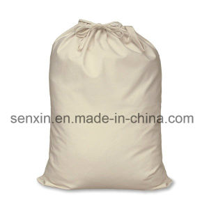 Double Drawstring Cotton Bag, High Quality Bag