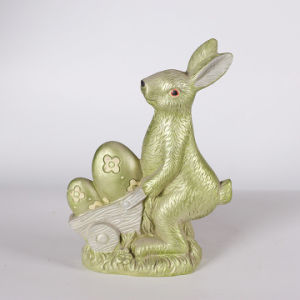 Bronze Rabbit Figurine Resin Indian Home Decor Items pictures & photos