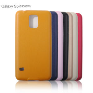 Ultrathin Soft PU Leather Phone Cases for Samsung J7/J5/S5 pictures & photos